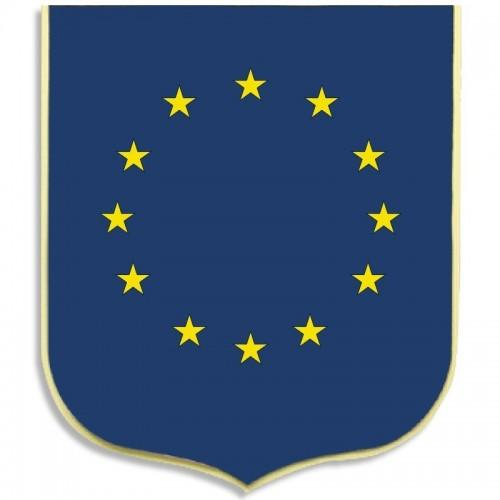 Ecussons porte-drapeaux - 5 emplacements